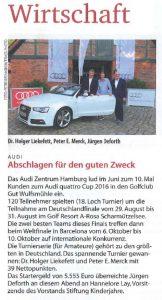 audi golf event Klönschnack 2016-07