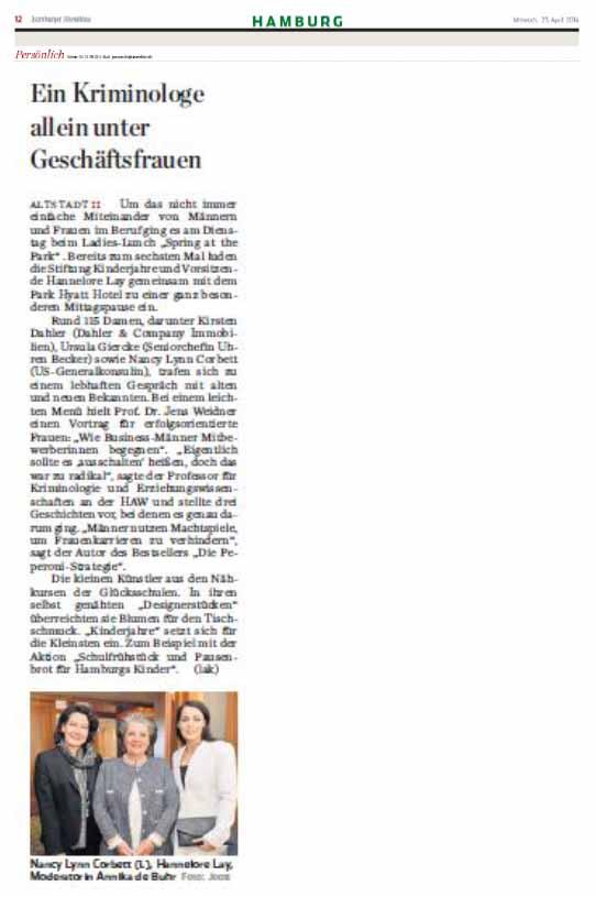 stiftung-kinderjahre - ladieslunch2014 - abendblatt