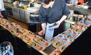 Zubereitung des Essens für alle Gäste