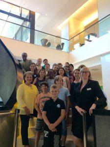 Radisson Blu Hotel, Hamburg, Hannelore Lay_Stiftung Kinderjahre, Lerning Kids, Silvia Galle_HR & Responsible Business Cordinator
